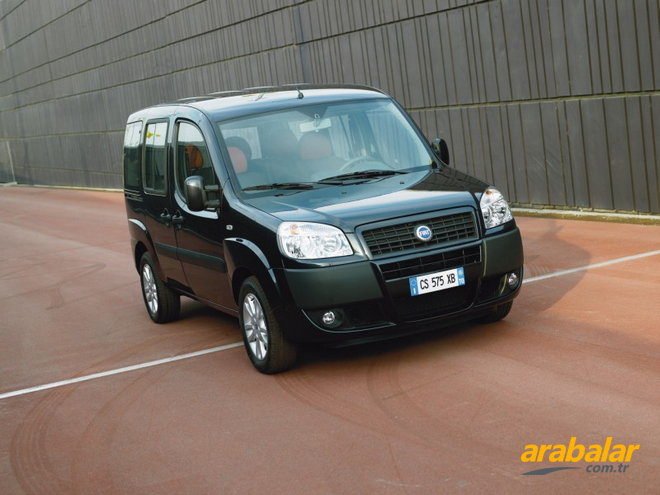 2009 Fiat Doblo Panorama 1.3 Multijet Active