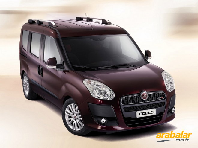 2012 Fiat Doblo Panorama 1.6 Multijet Conformatic