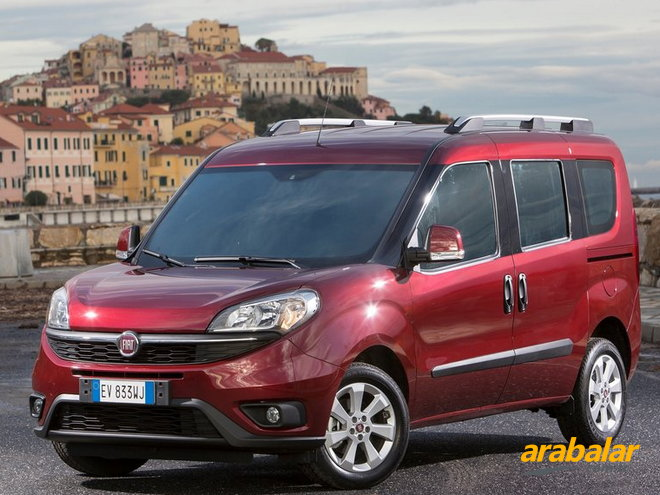 2015 Fiat Doblo Panorama 1.6 Multijet Easy