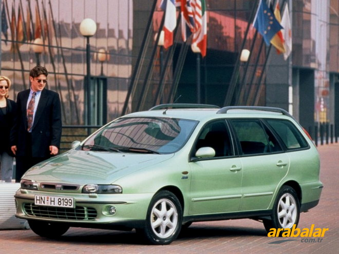 1999 Fiat Marea Weekend 1.6 ELX