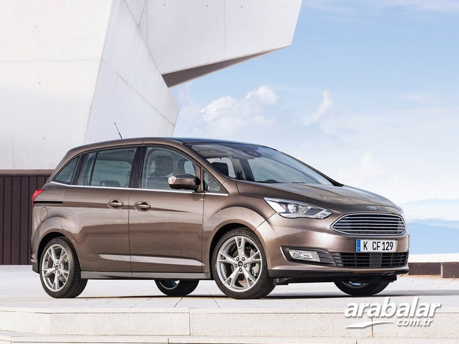 2017 Ford C-Max Grand 1.5 TDCi Titanium