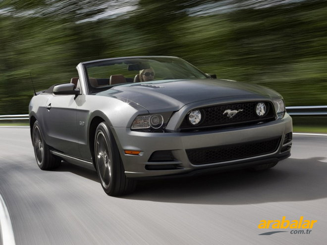 2011 Ford Mustang 4.6 Gt Convertible