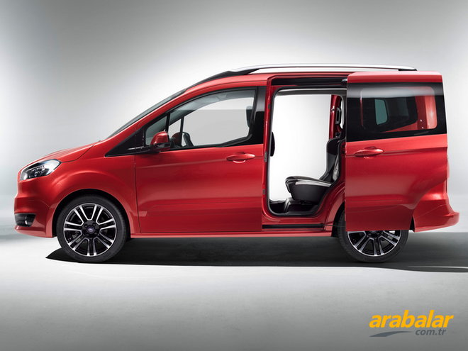 2016 Ford Tourneo Courier 1.5 TDCi Trend