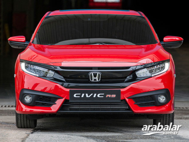 2018 Honda Civic RS 1.5 CVT