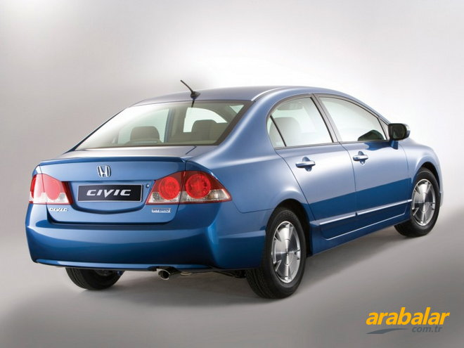 2007 Honda Civic 1.4 Hybrid