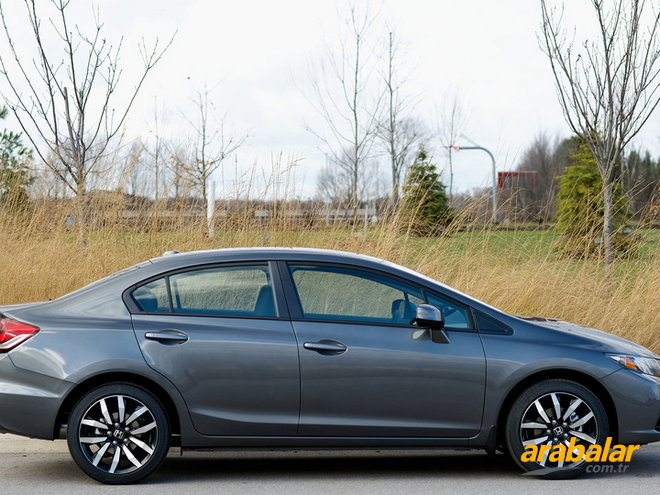 2014 Honda Civic 1.6 i-VTEC Elegance Eco Smart