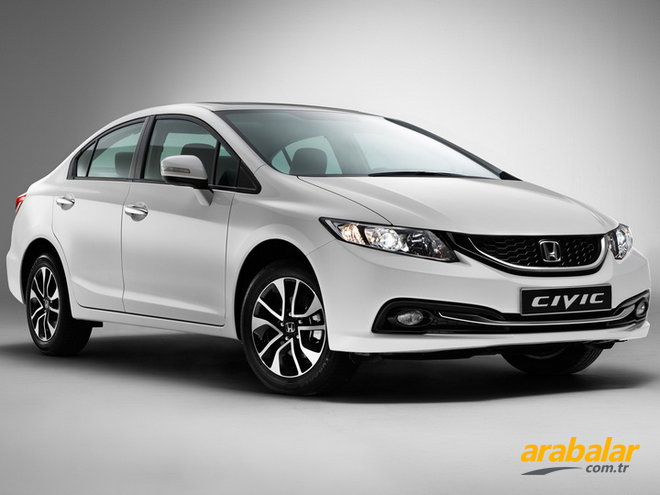 2015 Honda Civic 1.6 Dream AT