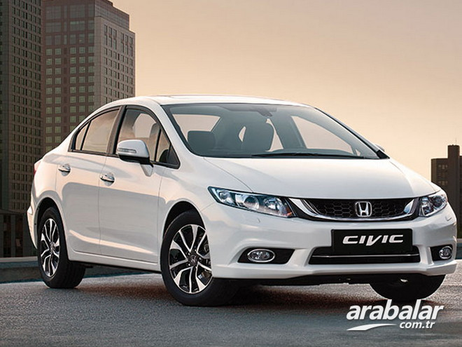 2015 Honda Civic 1.6 Elegance AT