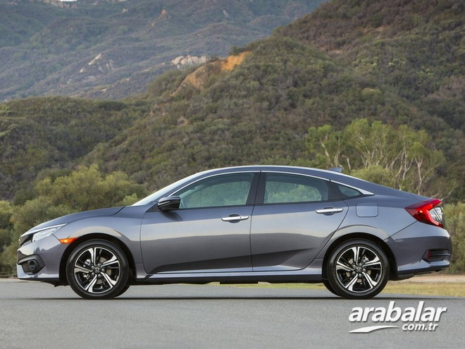 2017 Honda Civic 1.6 Executive ECO LPG CVT