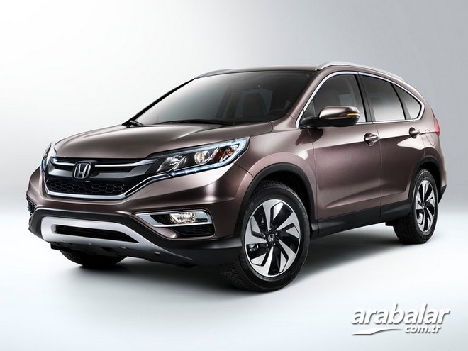 2017 Honda CR-V 1.6 i-DTEC Executive AT