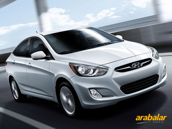 2012 Hyundai Accent Blue 1.6 CRDI Mode