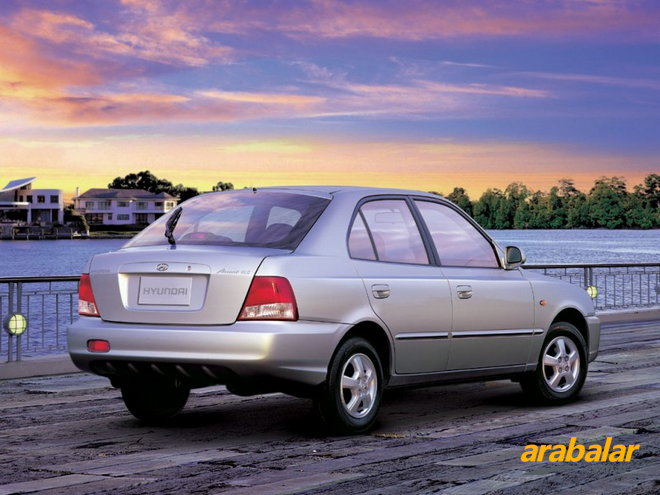 2003 Hyundai Accent 1.3 LX World Cup Special Edition