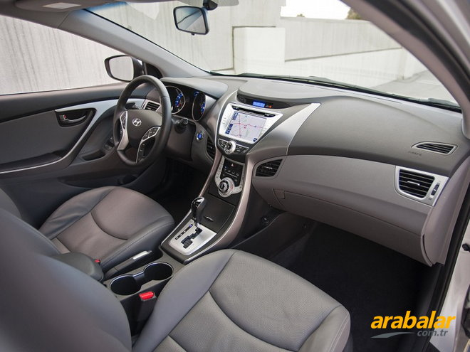 2012 Hyundai Elantra 1.6 D-CVVT Mode Plus