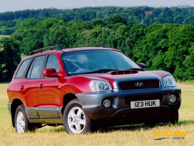2003 Hyundai Santa Fe 2.0 CRDI GLS Leather 4WD