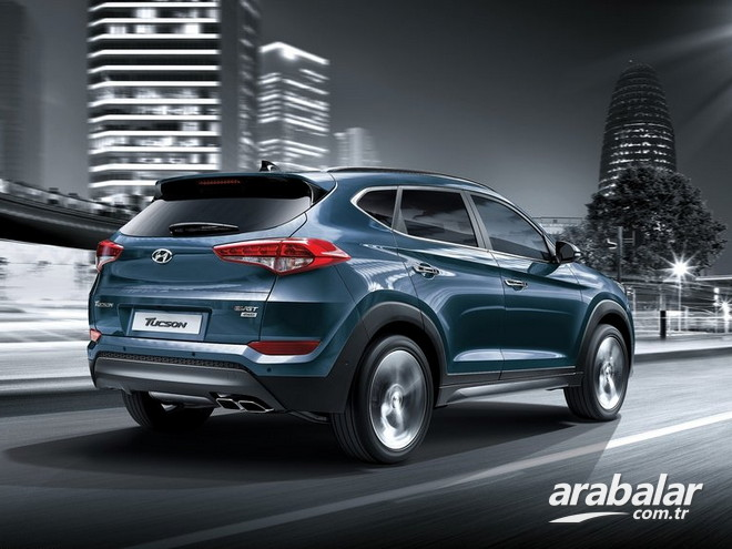 2017 Hyundai Tucson 2.0 CRDi Executive AT 4x4