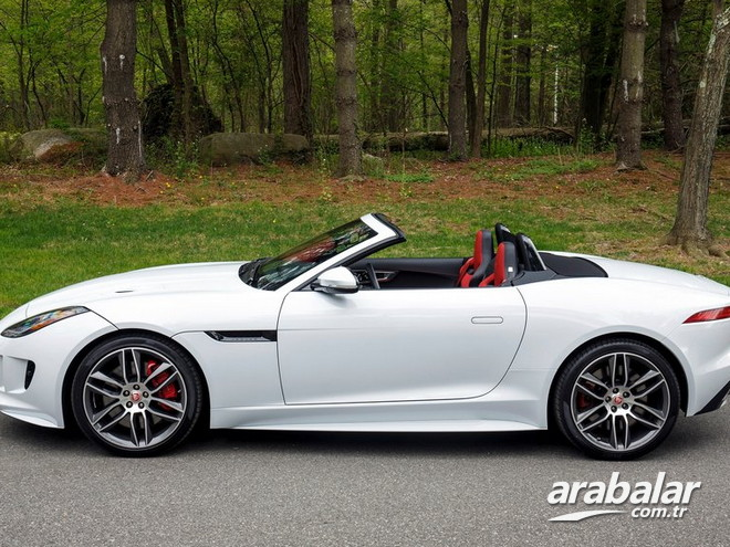 2017 Jaguar F-Type 3.0 S Convertible