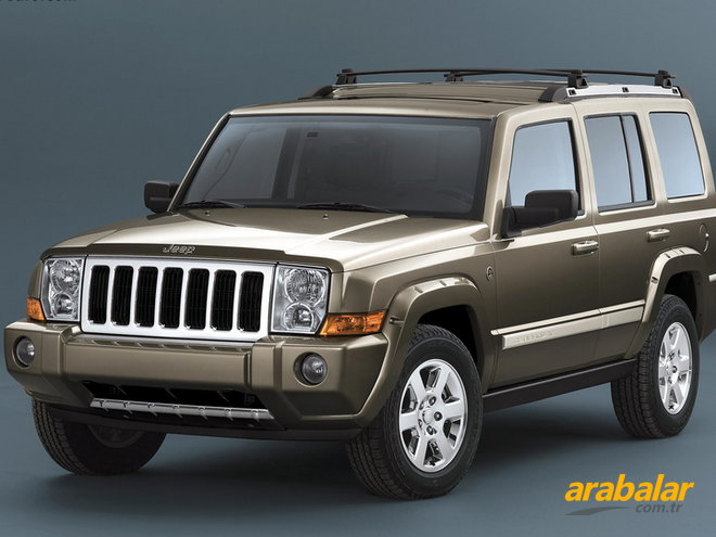 2007 Jeep Commander 3.0 CRD Limited Otomatik