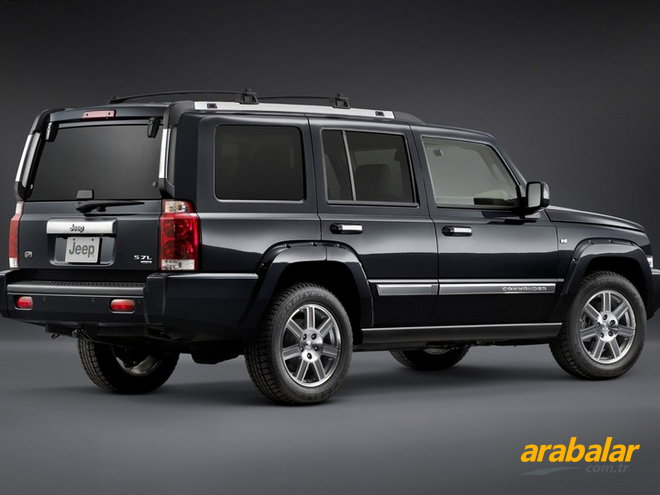 2010 Jeep Commander 3.0 CRD Limited Otomatik