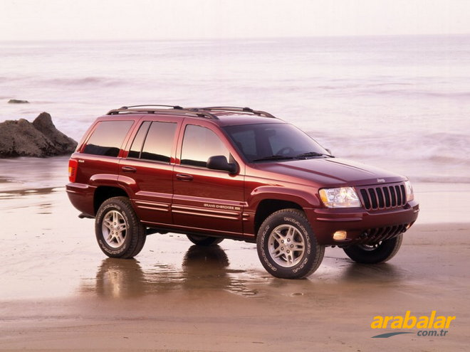 2001 Jeep Grand Cherokee 2.7 CRD Limited Otomatik