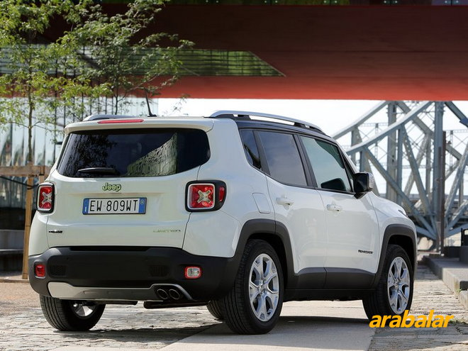 2017 Jeep Renegade 1.4 Limited AT AWD