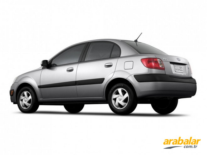 2009 Kia Rio Sedan 1.4 EX GSL Comfort AT