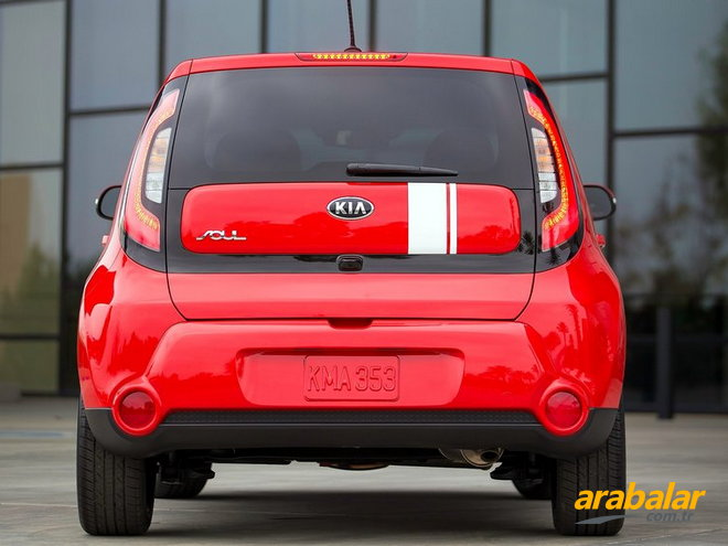 2015 Kia Soul 1.6 CRDi Premium AT