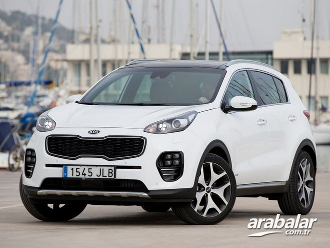 2016 Kia Sportage 1.6 Comfort AT