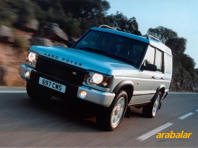 2003 Land Rover Discovery 2.5 TD5 ES Otomatik