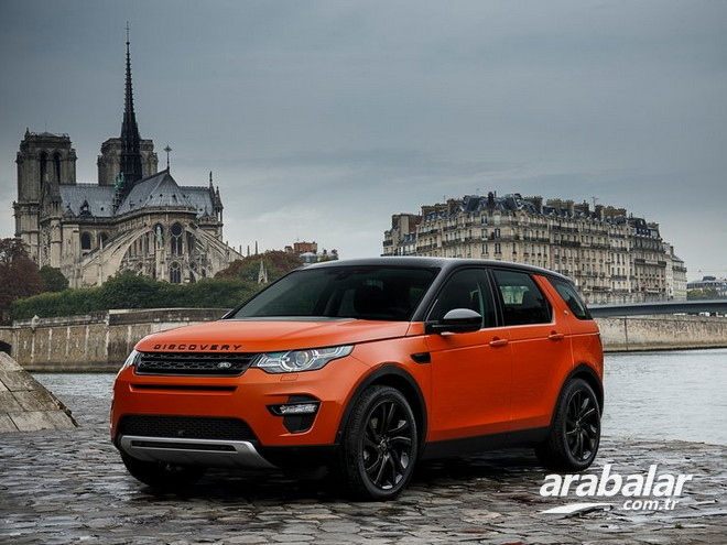 2015 Land Rover Discovery Sport 2.0 HSE Luxury 240 HP