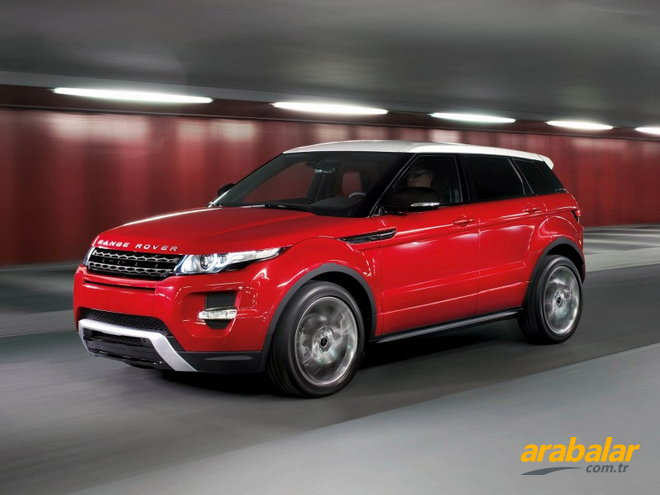 2012 Land Rover Range Rover Evoque 3K 2.2 SD4 Dynamic