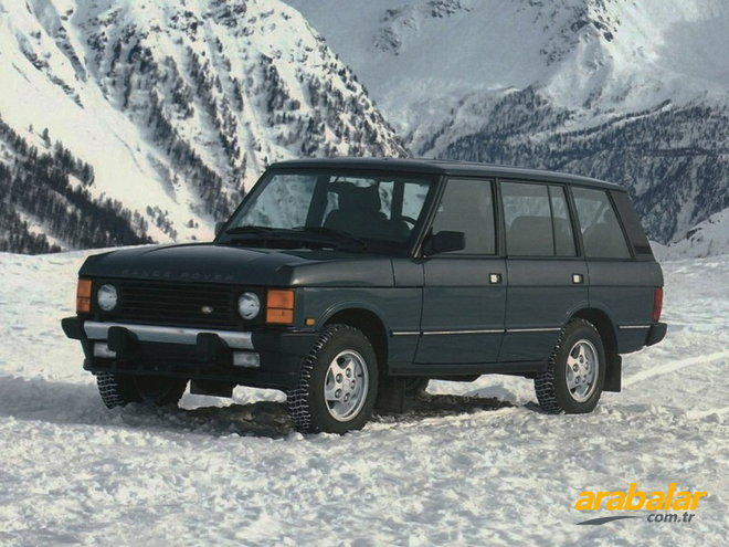 1989 Land Rover Range Rover 3.9 Vogue EFI