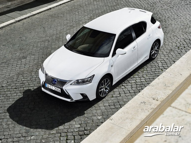 2017 Lexus CT 1.8 Comfort Plus