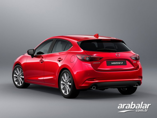 2017 Mazda 3 1.5 Power Sense AT