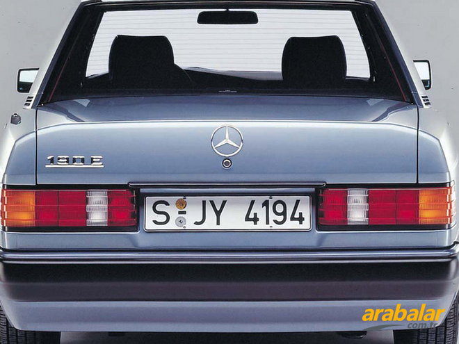 1989 Mercedes 190 Serisi 190 D Turbo