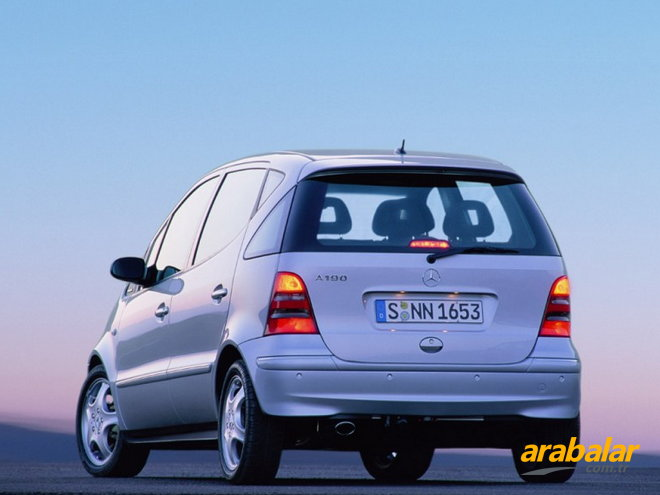 2003 Mercedes A Serisi A 140 L Elegance Magic
