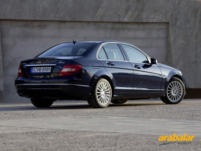 2011 Mercedes C Serisi C 180 Kompressor BlueEFFICIENCY Elegance