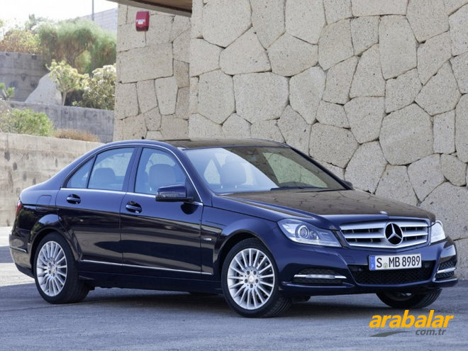 2012 Mercedes C Serisi C 180 Kompressor BlueEFFICIENCY AMG