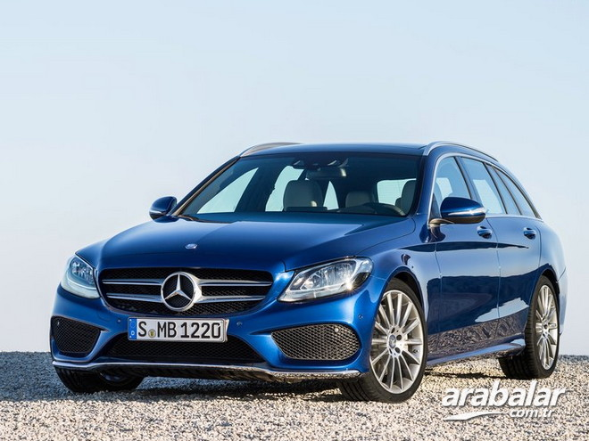 2015 Mercedes C Serisi 200 Estate CDI 1.6 AMG