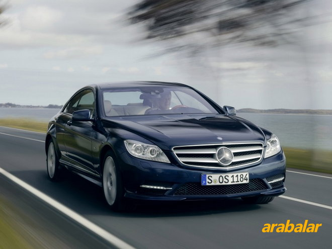 2012 Mercedes CL 500 4Matic BlueEFFICIENCY