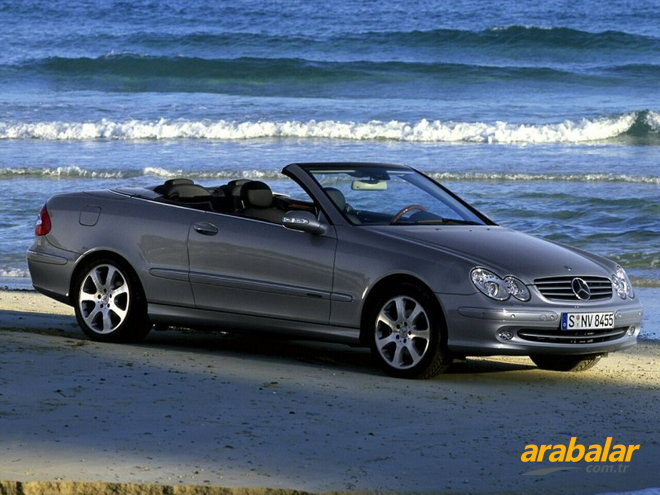 2009 mercedes clk 200 kompressor dinamik cabrio arabalar. Black Bedroom Furniture Sets. Home Design Ideas
