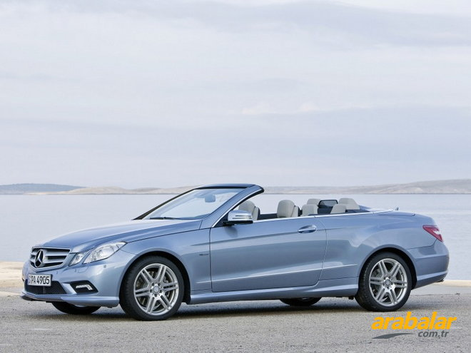 2011 Mercedes E Serisi E 250 CGI BlueEFFICIENCY Avantgarde