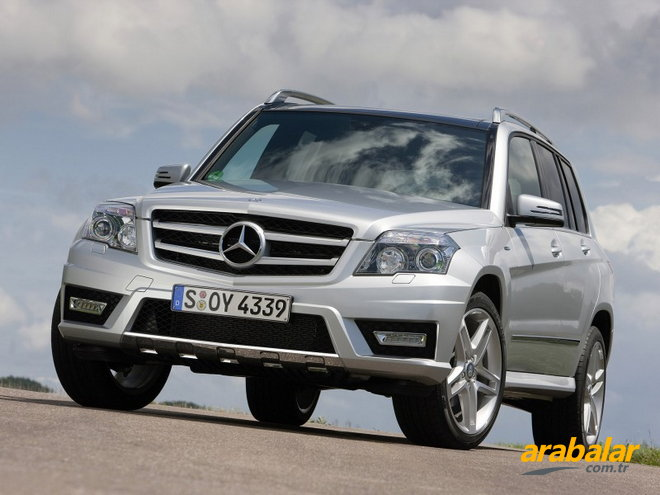 2011 Mercedes GLK 220 CDI BlueEFFICIENCY 4Matic EURO5