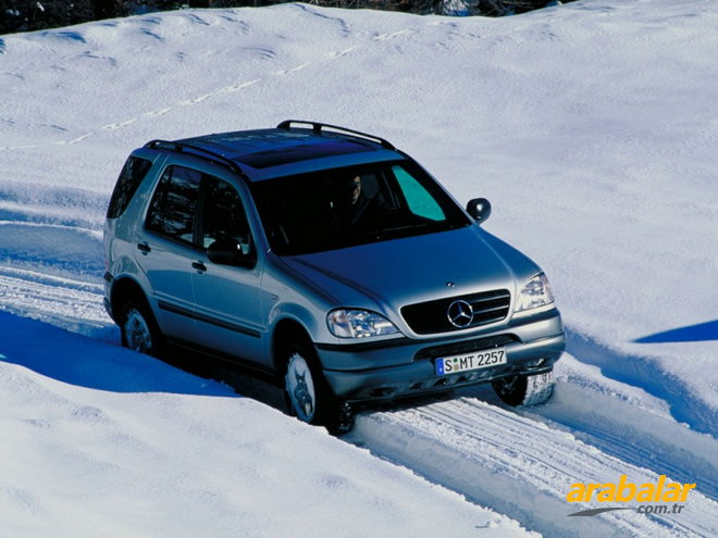 2001 Mercedes ML 270 CDI Otomatik
