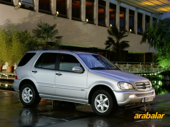 2004 Mercedes ML 270 CDI Otomatik