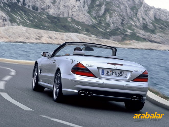 2008 Mercedes SL 500 Roadster