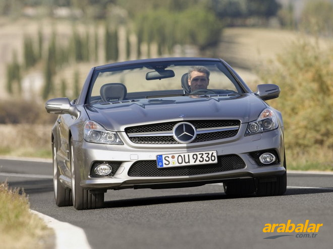 2011 Mercedes SL 350 Roadster EURO5