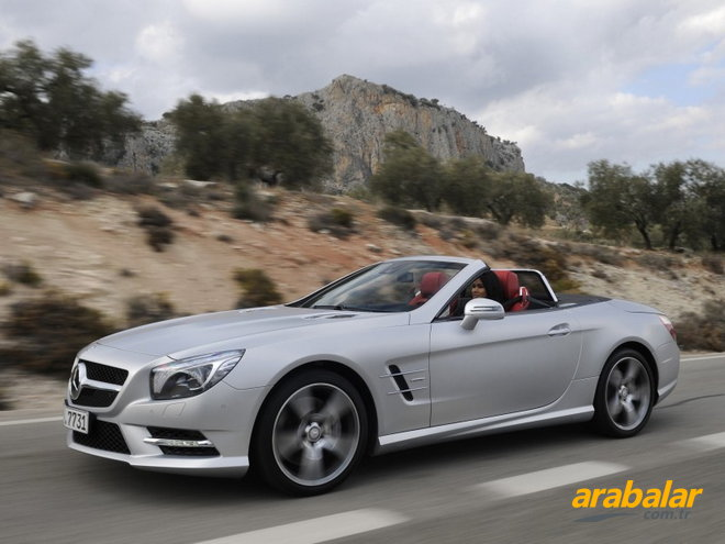 2012 Mercedes SL 500 Roadster