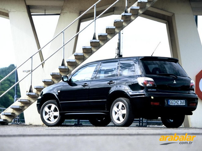 2008 Mitsubishi Outlander 2.4 Intense Plus