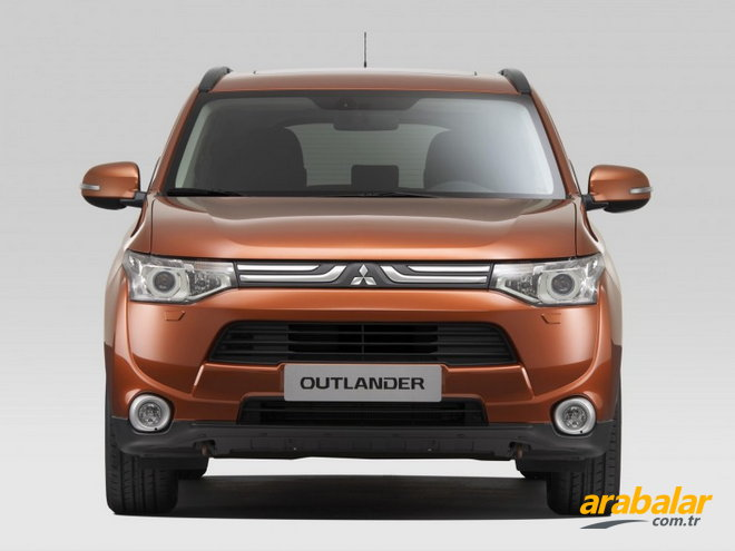 2013 Mitsubishi Outlander 2.0 MIVEC Instyle 4X4 CVT