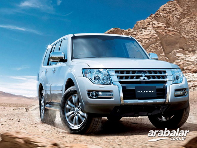 2017 Mitsubishi Pajero 3.2 DID Instyle AT